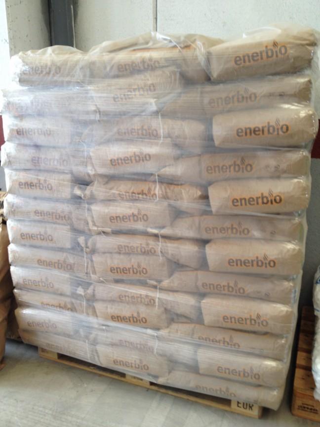 Pellets enerbio 15 kg vall s distribuciones - Pellets precio kilo ...